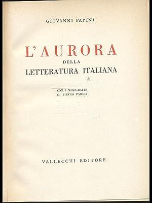 L'Aurora della Letteratura Italiana: Giovanni Papini