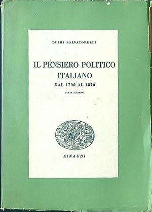 Il pensiero politico italiano dal 1700 al: Luigi Salvatorelli