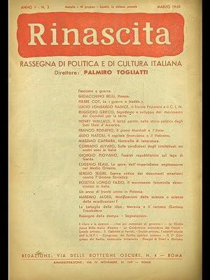Rinascita n. 3/marzo 1948: aa.vv.