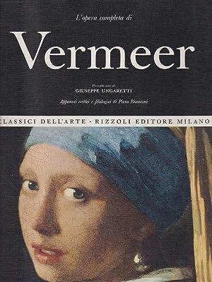 L'opera completa di Vermeer: Aa Vv