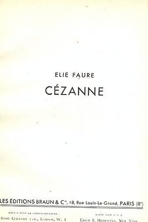 Cezanne - in lingua francese: Elie Faure
