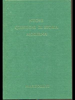 Nuove questioni di storia moderna II: aa.vv.