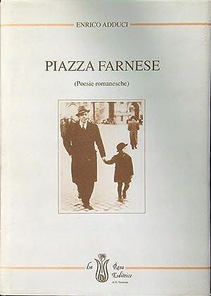 Piazza Farnese (Poesie romanesche): Enrico Adduci