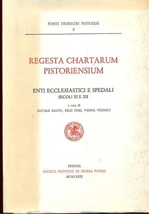 Regesta chartarum pistoriensium: AA.VV.