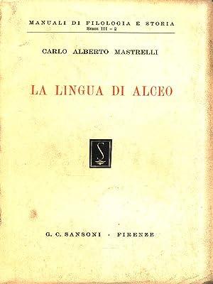 La lingua di Alceo: Mastrelli, Carlo Alberto