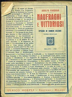 Naufraghi e vittoriosi: Adolfo Padovan