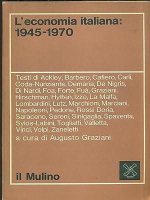 L'economia Italiana: 1945-1970: aa.vv