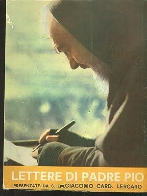 Lettere di Padre Pio: Giacomo Lercaro