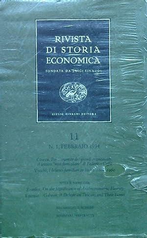 Rivista di storia economica 11 - n1: Luigi Einaudi