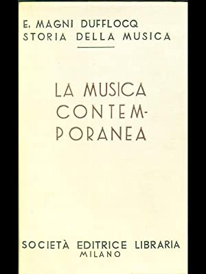 La musica contemporanea: Enrico Magni Dufflocq