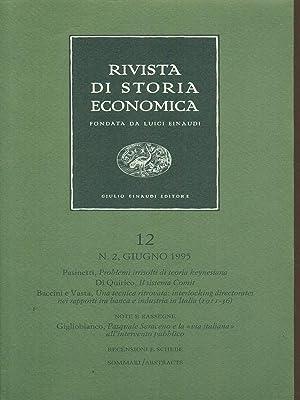 Rivista di storia economica 12 / n: aa.vv.