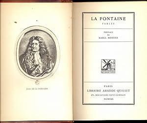 Fables - in lingua francese: La Fontaine