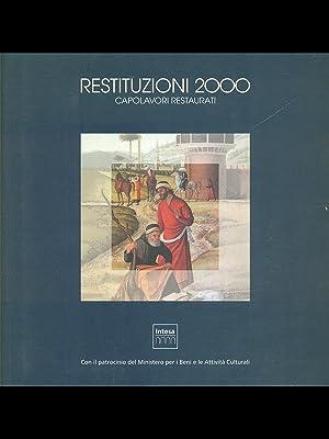 Restituzioni 2000 Capolavori restaurati