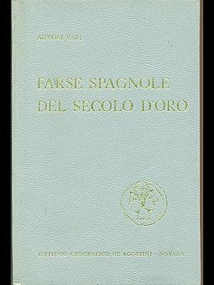 Farse spagnole del secolo d'oro: AA.VV.
