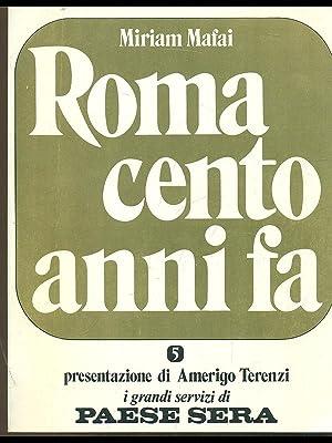 Roma cento anni fa