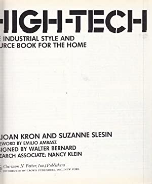 High-tech - in lingua inglese: Joan Kron -