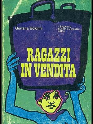 Ragazzi in vendita: Giuliana Boldrini
