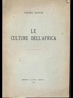 Le culture dell'Africa: Pietro Scotti
