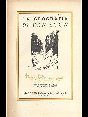 La geografia: H.W.Van Loon