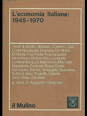 L'economia italiana 1945-1970: aa.vv.