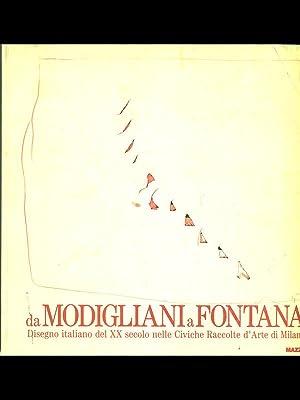 Da Modigliani a Fontana. Disegno italiano del: aa.vv.