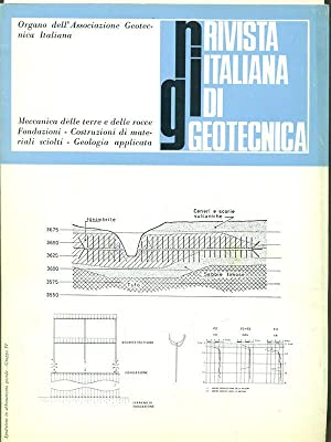 Rivista italiana di geotecnica anno III N4: aa.vv.