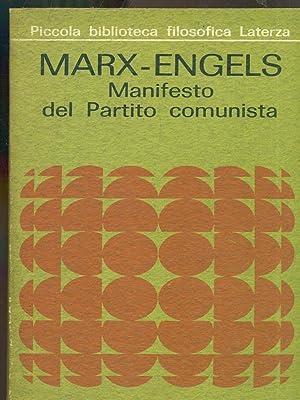 Manifesto del Partito comunista: Marx - Engels