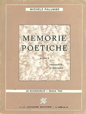 Memorie poetiche: Michele Palumbo