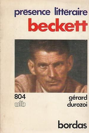 Beckett - in lingua francese: Gerard Durozoi