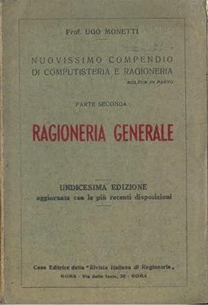 Ragioneria generale: Ugo Monetti