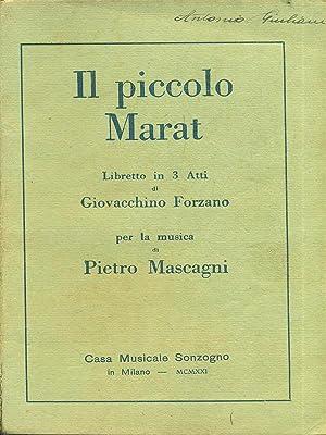 Il piccolo Marat: Giovacchino Forzano -