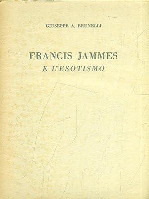 Francis Jammes e l'esotismo: Giuseppe A. Brunelli