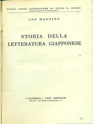 Storia delle letteratura Giapponese: Leo Magnino