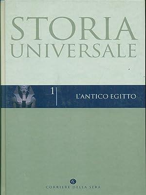 Storia Universale 1 - l'antico egitto