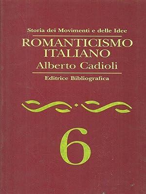 Romanticismo italiano: Alberto Cadioli
