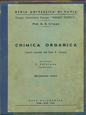 Chimica organica: G.B. Crippa