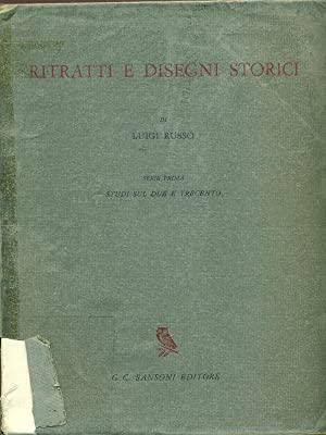 Ritratti e disegni storici: Luigi Russo