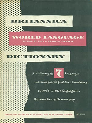 Britannica World Language Dictionary - 2 vv