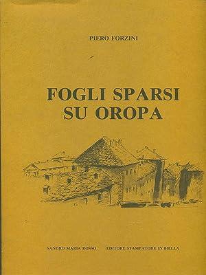 Fogli sparsi su Oropa: Piero Forzini