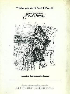 Tredici poesie di Bertold Brecht: Gabriele Mucchi