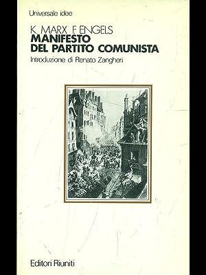 Manifesto del partito comunista: Karl Marx -