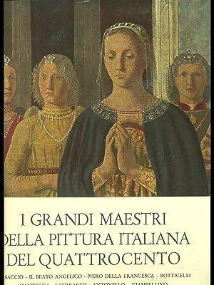Grandi maestri della pittura italiana del quattrocento for Grandi maestri del design