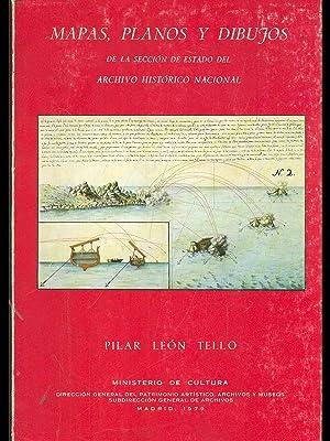 Mapas, planos y dibujos: Pilar Leon tello