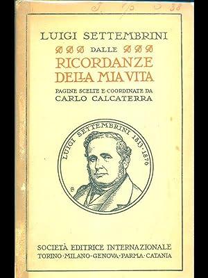 Dalle Ricordanze della mia vita: Luigi Settembrini