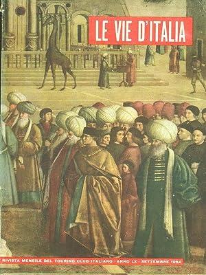 Le vie d'Italia - Settembre 1954 -: aa.vv.