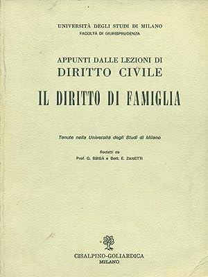 Appunti dalle lezioni di diritto civile -: G.Sbisà - E.Zanetti