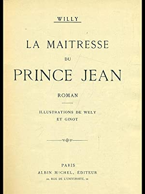 Laq maitresse du prince Jean: Willy
