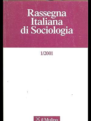 Rassegna Italiana di Sociologia 1/2001: aa.vv.