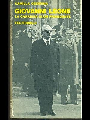 Giovanni Leone, la carriera di un presidente: Camilla Cederna