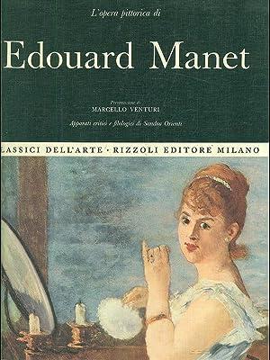 L'opera pittorica di Edouard Manet: Sandra Orienti.